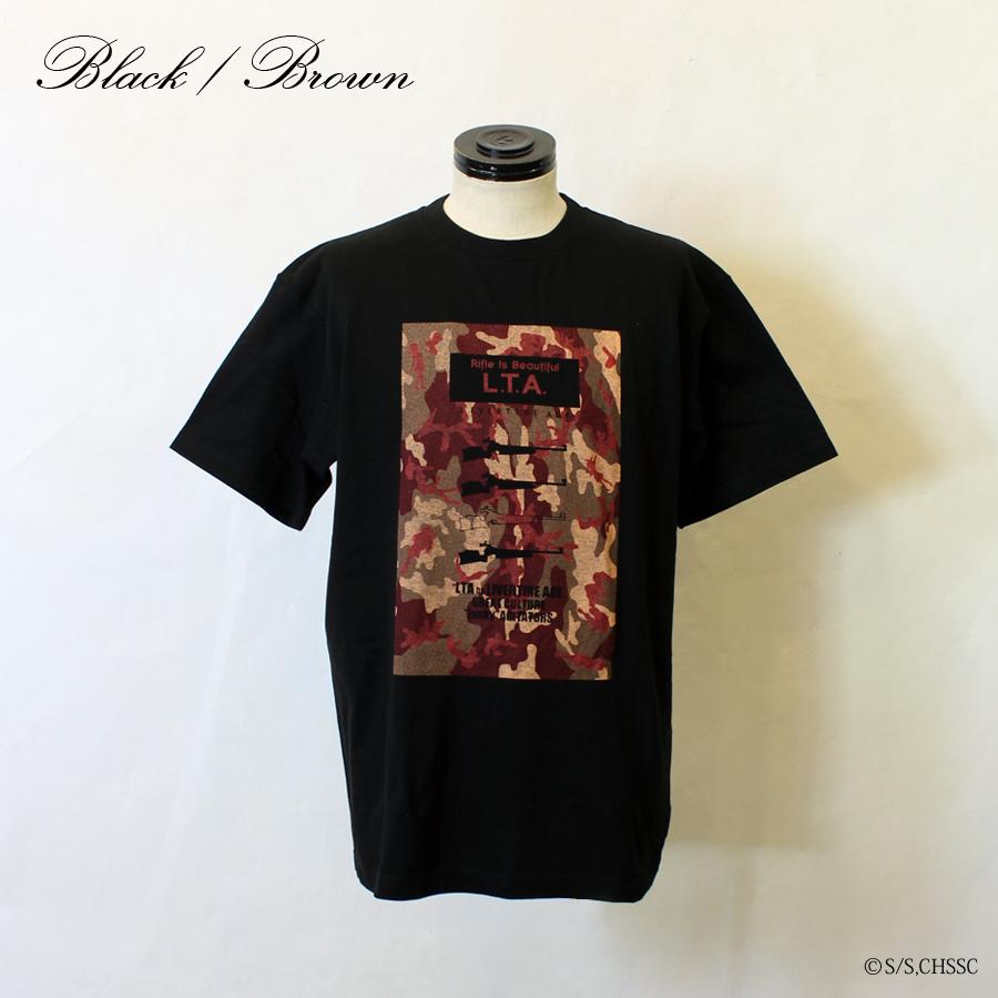 ライフル・イズ・ビューティフル×LIVERTINE AGE コラボ 半袖Tシャツ